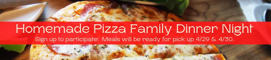 Family Dinner Night April 2021